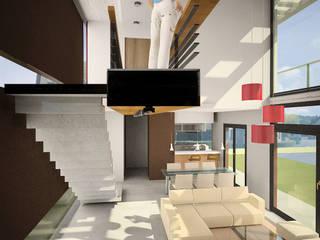 Vivienda Jass Comedores minimalistas de Comodo-Estudio+Diseño Minimalista