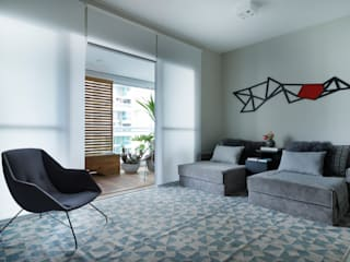 Campo Belo Modern living room by Studio GPPA Modern