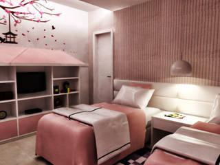 Habitaciones de estilo  por PILOTTIZ ARQUITETURA E DESIGN