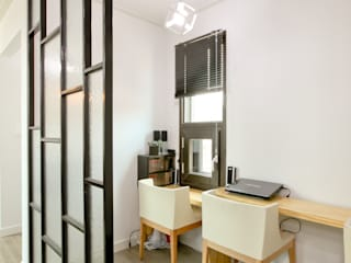기존도면에 한층더 업그레이드된 집 모던스타일 거실 by 한글주택(주) 모던