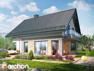 Projekt domu ARCHON+ Dom w orliczkach od ARCHON+ PROJEKTY DOMÓW