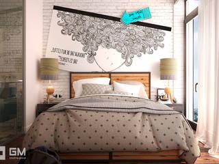 Dormitorios de estilo escandinavo de GM-interior Escandinavo