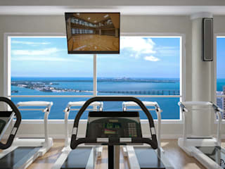RENDERING 3D - CENTRO BENESSERE/SPA Hotel moderni di 2P COSTRUZIONI srl Moderno