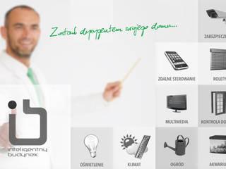 Inteligentny dom - system zarządzania instalacjami: styl , w kategorii Pokój multimedialny zaprojektowany przez Inteligentny Budynek Polska