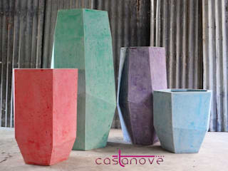 Putingbato polystone planters: modern  by Castanove Manufacturing Corp., Modern