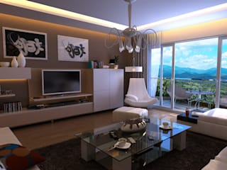 Modern living room by HYEJEONG JO Modern