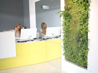Vertical Garden - office: Studio in stile in stile Moderno di Sundar Italia