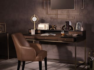 Metropolitan Luxe - Office: modern  by LuxDeco, Modern