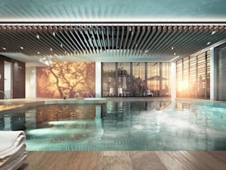 Swimming Pool - CGI Aqua Platinum Projects Piscinas de estilo clásico