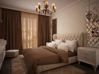 дизайн-бюро ARTTUNDRA Classic style bedroom Beige