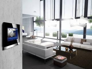 Inteligentny dom - system zarządzania instalacjami: styl , w kategorii Salon zaprojektowany przez Inteligentny Budynek Polska