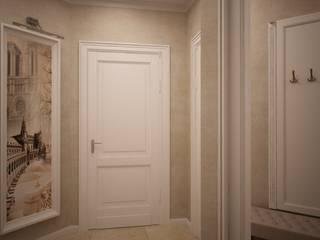 дизайн-бюро ARTTUNDRA Classic style corridor, hallway and stairs Beige