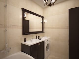 дизайн-бюро ARTTUNDRA Classic style bathroom Beige