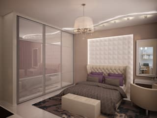 Modern style bedroom by дизайн-бюро ARTTUNDRA Modern