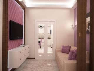 дизайн-бюро ARTTUNDRA Living room Purple/Violet