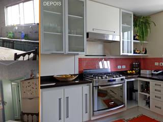 Cocinas de estilo moderno de MBDesign Arquitetura & Interiores Moderno