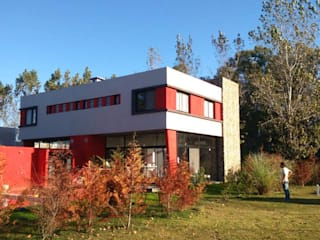 Houses by DS Arquitectos, Modern