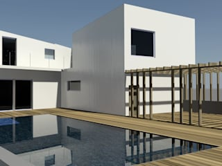 Mediterranean style pool by Domenico Architetto Moschetto Mediterranean
