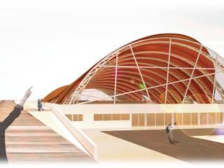 Polideportivo - Mar del Plata Gimnasios domésticos modernos: Ideas, imágenes y decoración de GPA studio Moderno