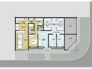 Remodelación - Pilar Estudios y oficinas modernos de GPA studio Moderno