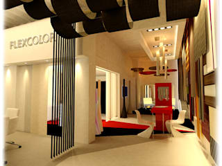 Renders Showroom - Palermo: Centros de exposiciones de estilo  por GPA studio