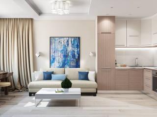 дизайн гостиной: Гостиная в . Автор – Tatiana Zaitseva Design Studio
