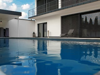 Modern pool by Herzog-Architektur Modern