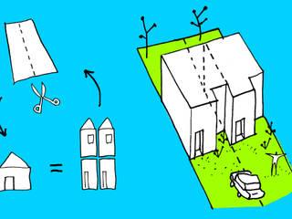 Dúplex VN:  de estilo  por estudio mam3 arquitectos