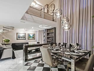 Comedores de estilo moderno de Janaina Macedo Interiores Moderno