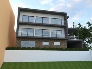 Hasbitação Bifamiliar Casas modernas por Marilia Pinto, Arquitetura Engenharia & Construção Moderno