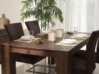 Esstisch 180x100 Akazie Pinie massiv Holz Moebel Esszimmer Tisch Küchentisch:   von Moebelkultura.DE