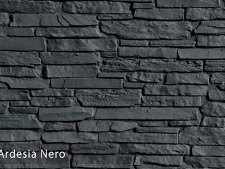 TAŞ DUVAR PANELLERİ:  de estilo  por Sena Stone