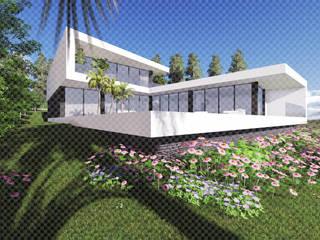 Rumah oleh 3.SA, Minimalis