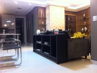 Reforma residencial A&R por Solução Arquitetura e Engenharia Moderno