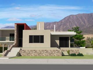 Maison individuelle de style  par Arquitecto Manuel Daniel Vilte, Minimaliste