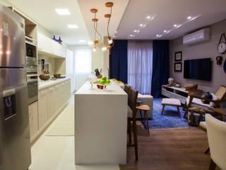 Estúdio HL - Arquitetura e Interiores Cucina moderna