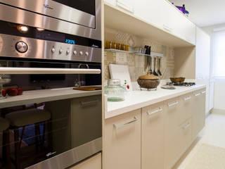 Estúdio HL - Arquitetura e Interiores ห้องครัว