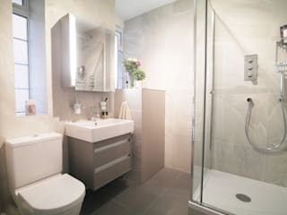 St John's Wood Patience Designs Studio Ltd Modern bathroom
