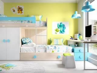Phòng trẻ em phong cách hiện đại bởi o quarto dos miúdos Hiện đại
