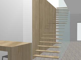 Decoração interior de um Café restaurante Espaços comerciais modernos por Marilia Pinto, Arquitetura Engenharia & Construção Moderno