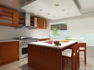 Modern style kitchen by CouturierStudio Modern