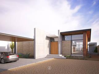 Lozano Arquitectos Maisons modernes Béton