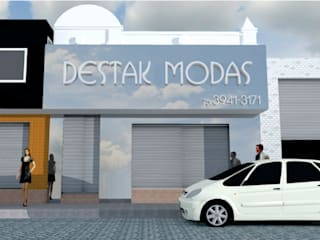 Casas modernas de @idearprojecao Moderno