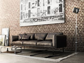 Salas de estar modernas por Giuseppe Balestri Moderno