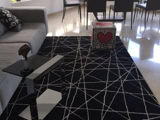 Apto. Los Chorros Salas de estilo moderno de THE muebles Moderno
