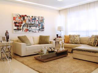 Living : Salas de estar  por Mally Arquitetura