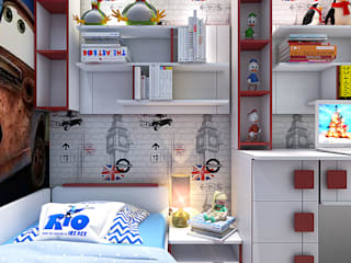 Nursery/kid's room by Your royal design, Industrial