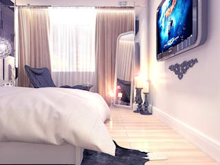 Bedroom by Your royal design, Minimalist
