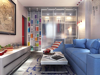 Living room by Your royal design, Industrial