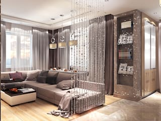 Living room by Your royal design, Minimalist